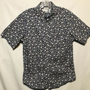 Old Navy Mens Casual Button Down Shirt Size Medium